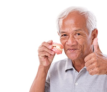 "Patients in Quincy, MA ask, ""Do full dentures look real?"""