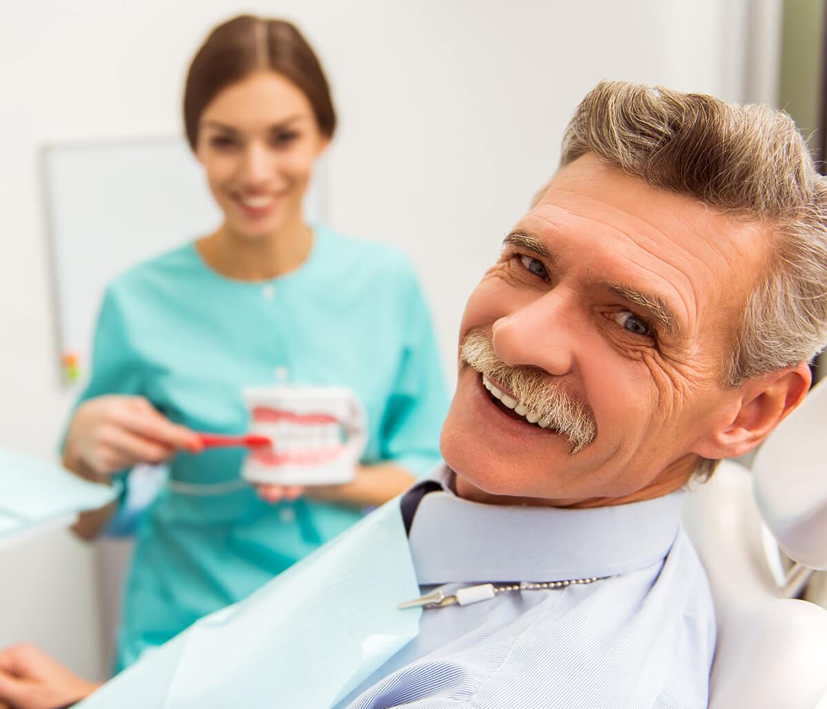 Enjoy Natural-looking Full Dentures with Quincy, Ma Dental Service in Quincy Ma Area